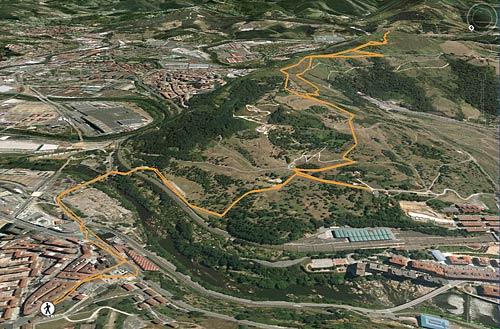 Ascensión al sencillo Malmasín (362 m) desde Bolueta (Bilbao) (1)