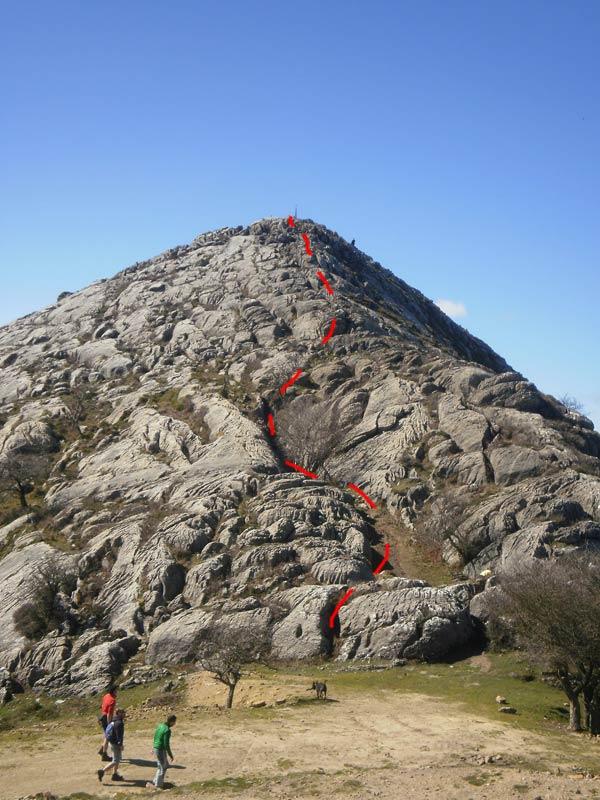 ¿Parece difícil? En realidad el ascenso al Pico de la Cruz es más fácil de lo que parece.