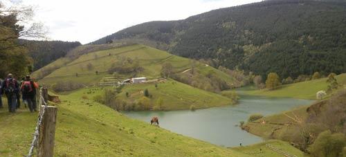 Pantano de Oiola.