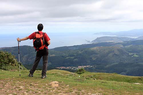 El premio de la cima: el paisaje que te rodea.