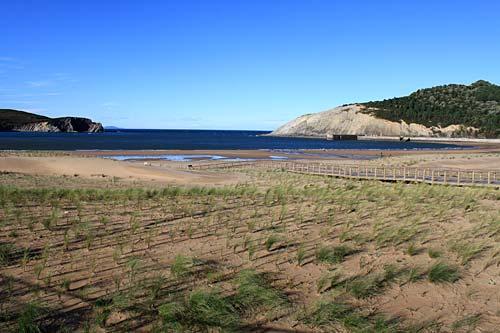 La playa de Gorliz, un paraíso a un metro de la ciudad.