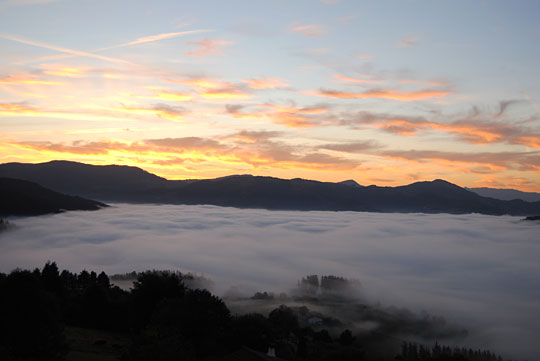 Ostras, tú: Las mejores vistas de Euskadi están en Elgeta