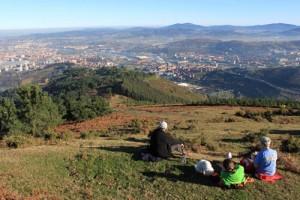 Fabulosas vistas desde el Arroletza