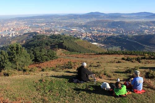 Fabulosas vistas desde el Arroletza…
