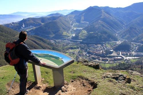Valle del Cadagua 'a vista de pájaro'.
