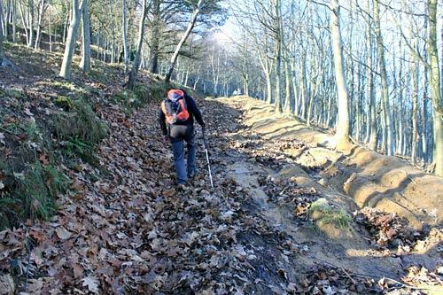 Recomendamos tomar el Camino Viejo de ascenso al Pagasarri sólo con buen tiempo.