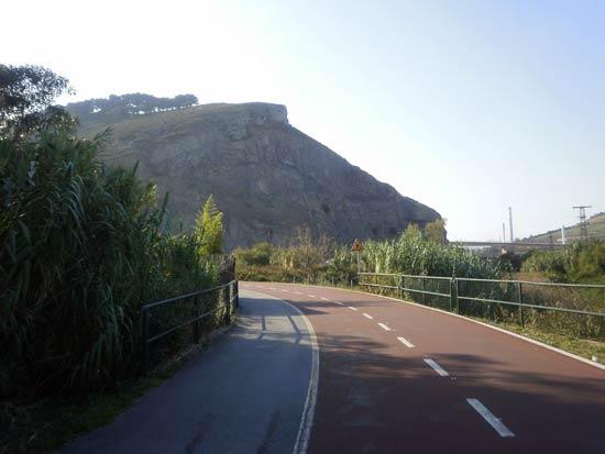 El Peñón. Montaño queda detrás.