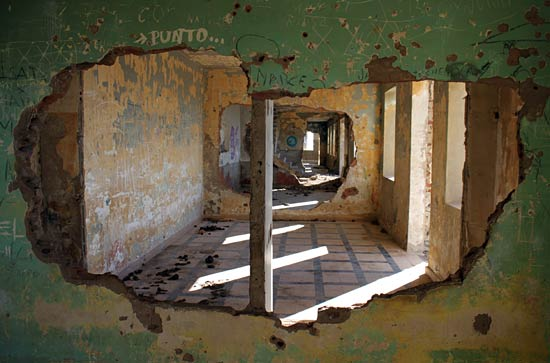 """El cuartel está """"para entrar a vivir"""" (si no se es muy exigente)."""