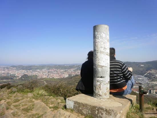 Pese a su escasa altura, las vistas desde el monte Malmasín son privilegiadas.