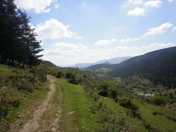 Uno de los atractivos del entorno de Peñas Negras: sus paisajes.