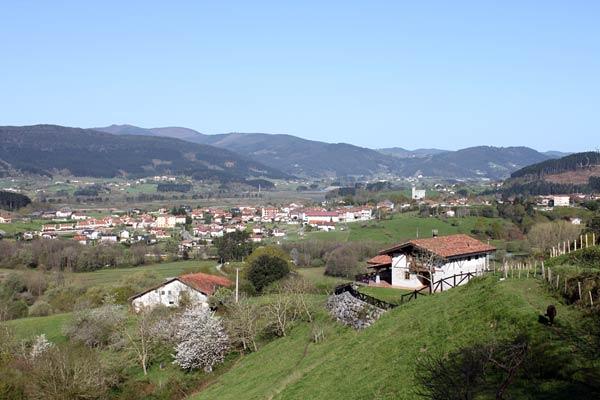 Bonitas vistas de Gautegiz Arteaga.