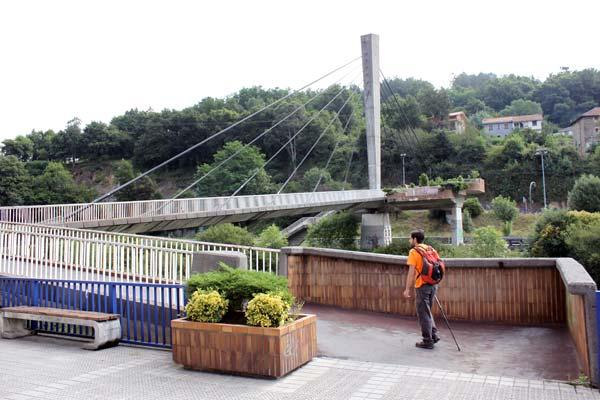 El puente sobre el río… Nervión.