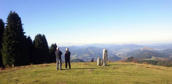 Con estas vistas desde el Altungane, a uno se le pasan las horas.