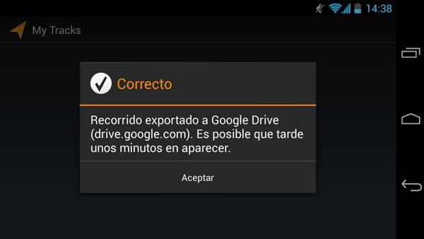 Con Google Drive, la nube gratuita de Google, puedes tener una copia de seguridad de tus KML.
