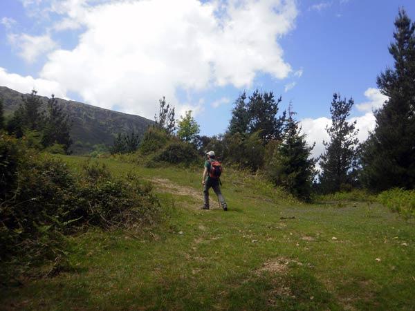 La cima del Gallarraga, ¡tan lejos y tan cerca…!