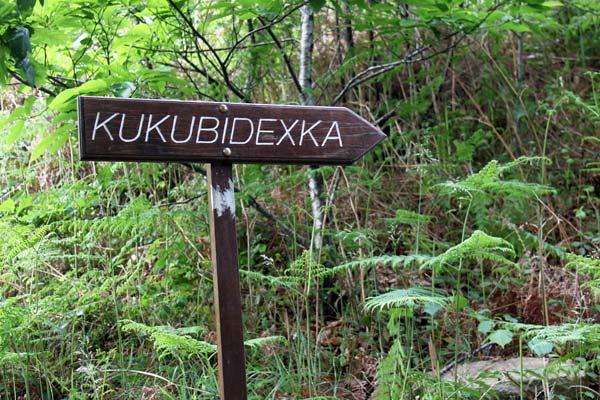 ¡Que no se te pasen las escaleras hacia Kukubidexka!