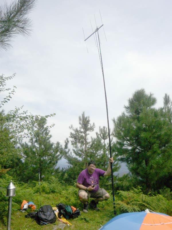 ¡Eso es una antena y no lo del Serantes!