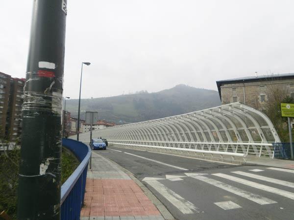 La Peña, un barrio dividido: mitad Bilbao, mitad Arrigorriaga.