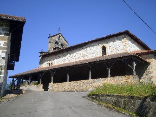 Iglesia de San Bartolomé de Olarte.