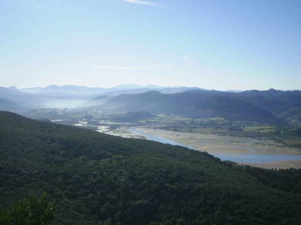 Las vistas de Urdaibai, de auténtica postal.