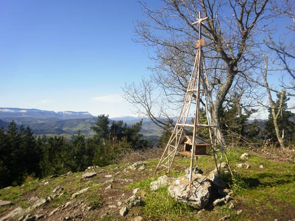 El Pagonabarra no es el Gorbea, pero también tiene unas bonitas vistas.