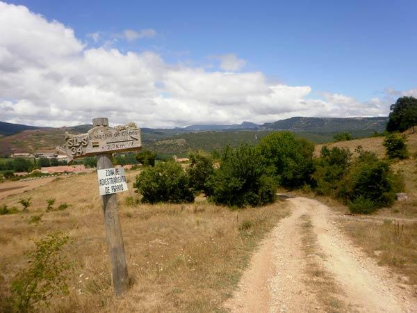 Y por aquí, de vuelta a San Martín de Elines.