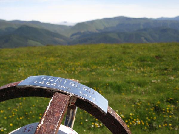 Cima de Goñiburu y a disfrutar del paisaje