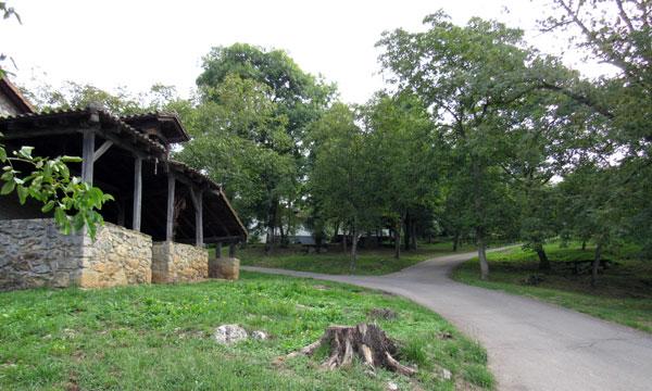 Barrio de Artaun y ermita de San Vicente